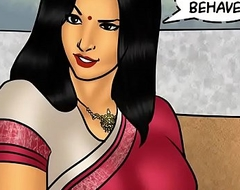 Savita Bhabhi Try one's luck 78 - Pizza Delivery &ndash_ Extra Sausage !!!