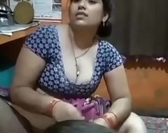 Desi Bhabhi legs wide open move onward her Son!!