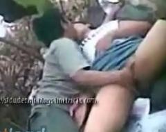 Indian outdoor garden sex