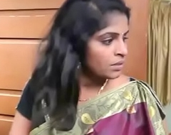 Sleeping Indian Aunty Romance with Thief ( 270p )