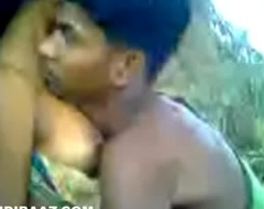 Municipal maid fucked in forest