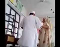 Desi principal fuck teacher in class room MMS paki old