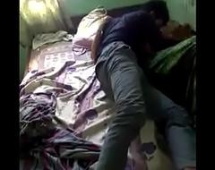 Sleepy desi girl forced to wake in a row sex