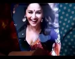 Cumming on Madhuri Dixit !!