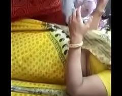 Big ass indian in yellow Saree