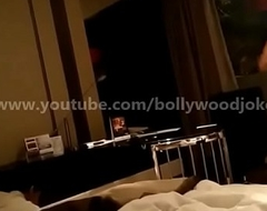 Newly wed Indian Get hitched desi dare in hotel enf Towel drop teasing breadth service boy