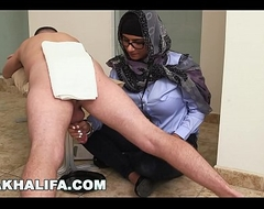 MIA KHALIFA - Your Favorite Arab Pornstar Milking Two Cocks Unattended For Fun