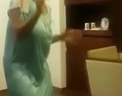 Bhabhi dancing madly