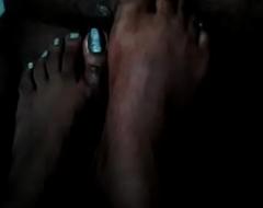Foot job indian