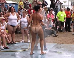 amateur unvarnished contest at one's fingertips this years nudes a poppin festival in indiana