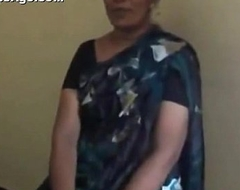 Indian desi teacher aunt stripping and sucking gumshoe be expeditious for her co-worker MMS - Indian Sex Clips
