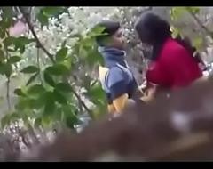indian span sex in open-air mushaffur garden