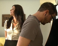 Stockinged mommy india summer gets fucked coupled with facialized