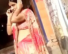 desi aunty showing to X hip added to navel there public