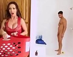 Indian Hot Frying Nri Mom fucked Nipper and laddie in bathroom - www.desimasalavideo.tk