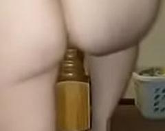 Horny milf aunty shagging bed